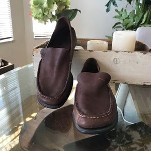 Timberland leather loafers